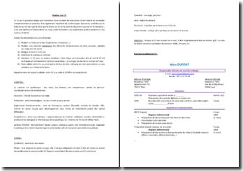 Réaliser son CV : méthodologie de rédaction