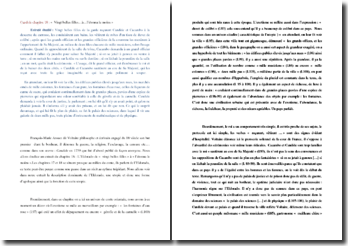 Voltaire, Candide, Chapitre 18, Extrait : commentaire