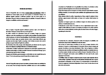 Alexis de Tocqueville, L'ancien régime et la Révolution, Chapitres V, VII et IX