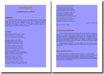 Apollinaire, Alcools, Les femmes : lecture analytique