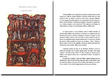Etude de la main armée du diable : Hortus Deliciarum