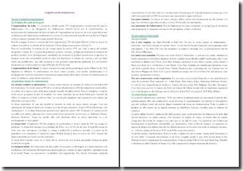 Les grands axes de communication (CRPE)