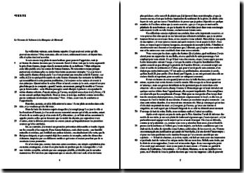 Choderlos de Laclos, Les Liaisons dangereuses, Lettre CXXV : Le Vicomte de Valmont à la Marquise de Merteuil