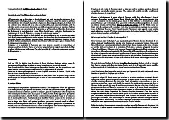 Freud, Le Malaise dans la culture, Partie V, Extrait : commentaire
