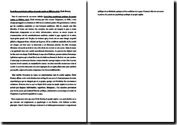 Émile Boutmy, Essai d'une psychologie politique du peuple anglais au XIXème siècle : résumé de la conclusion