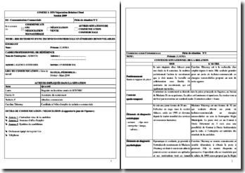 Fiche E4 BTS NRC en agence d'intérim : entretien de recrutement