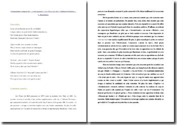 Baudelaire, A une passante : commentaire