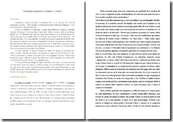 Albert Camus, L'Etranger, Incipit : commentaire