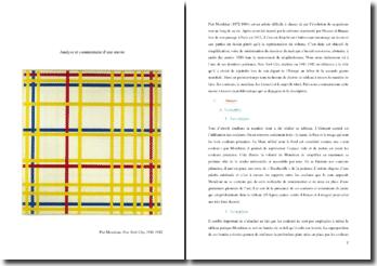 Piet Mondrian, New York City : analyse et commentaire