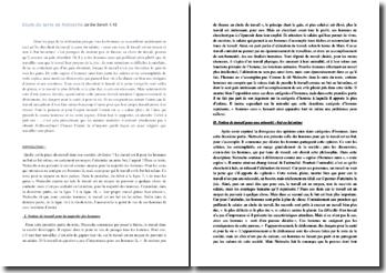 Nietzsche, Le Gai Savoir, paragraphe 42 : le travail et l'ennui