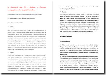 Honoré de Balzac, Le Père Goriot, Le dénouement : commentaire