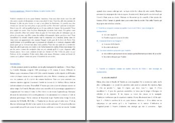 Balzac, Le père Goriot, Extrait : analyse