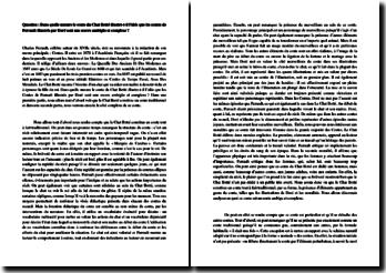 Dans quelle mesure le conte du Chat Botté illustre-t-il l'idée que les Contes de Perrault illustrés par Doré sont une oeuvre ambigüe et complexe?