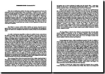 Alfred de Musset, Lorenzaccio, Acte IV scène 9 : commentaire