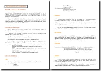 Description d'une unité commerciale (ACRC) : Thélem Assurances
