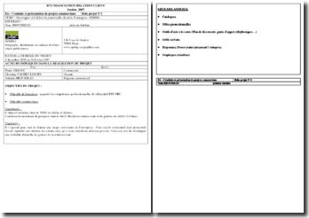 Fiche E6 BTS NRC : développer et fidéliser le portefeuille client de l'entreprise Spring
