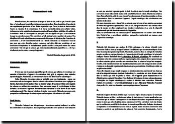 Nietzsche, Le gai savoir, §344, extrait : analyse linéaire
