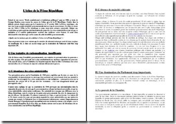 Georges Burdeau, Droit constitutionnel et institutions politiques, Extrait : commentaire