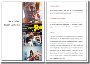 Jean-Luc Godard, Pierrot le fou : analyse