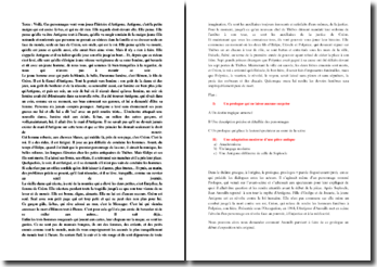 Anouilh, Antigone, Prologue : originalité et modernité