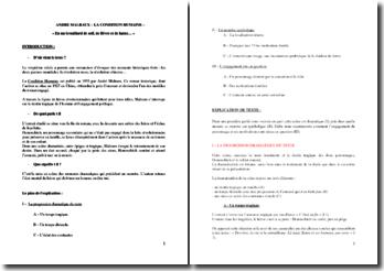 André Malraux, La Condition Humaine : En un brouillard de soif, de fièvre et de haine...