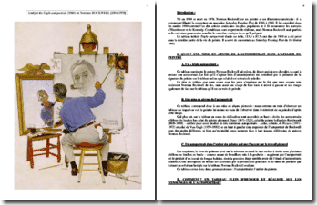 Rockwell, Triple autoportrait (1960) : analyse du tableau