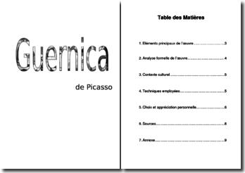 Pablo Picasso, Guernica : analyse du tableau
