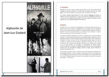 Jean-Luc Godard, Alphaville : analyse