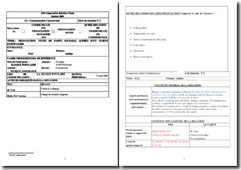 Fiche E4 : négociation vente de parts sociales auprès d'un client particulier