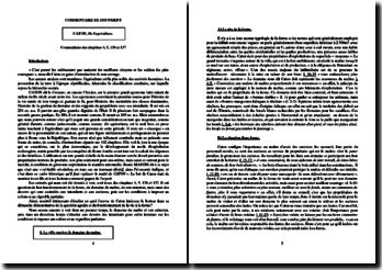 Caton l'Ancien, De l'Agriculture, Chapitres 4, 5, 136 et 137