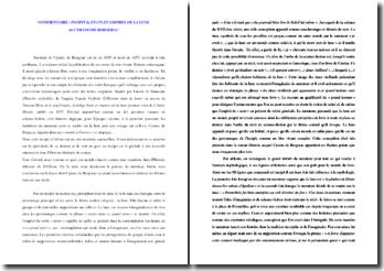 Cyrano de Bergerac, Etats et Empires de la Lune, Incipit : commentaire