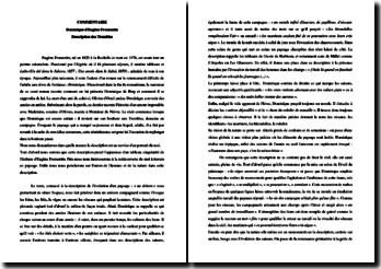 Eugène Fromentin, Dominique, La description des Trembles : commentaire