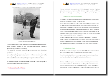 Doisneau, Fox Terrier au Pont des Arts : analyse