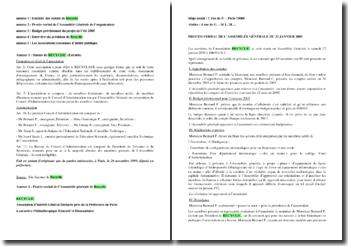 Sujet de Bac de Management : l'organisation Recyclic