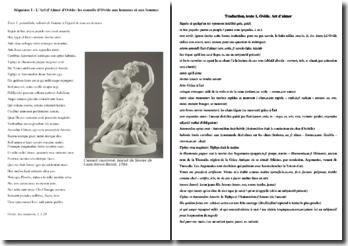 Ovide, L'Art d'aimer, Préambule, I, 1-29 : traduction et commentaire
