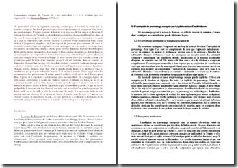 Diderot, Le Neveu de Rameau, Incipit : commentaire