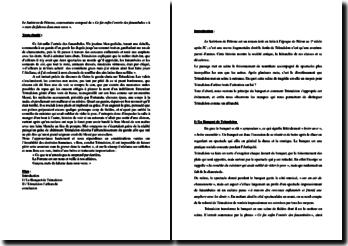 Pétrone, Le Satiricon, Extrait : commentaire