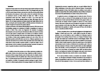 La fresque de Bacchus et le Vésuve (Pompéi) : commentaire