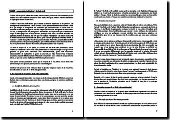 Commentaire de l'article 9 du Code civil : la vie privée