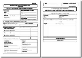 Douments officiels vierges pour ACRC et PDUC BTS MUC