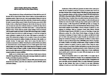 Gustave Courbet, L'Homme blessé : analyse de l'oeuvre