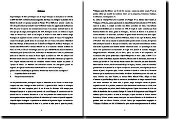 Diego Velázquez, Les Ménines : analyse de l'oeuvre