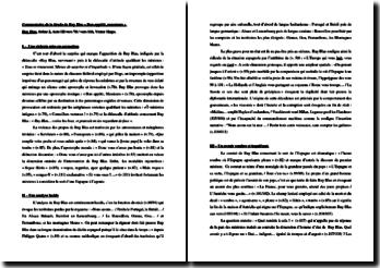 Victor Hugo, Ruy Blas, Acte III scène 2, Vers 78 à 116 : Bon appétit, messieurs !...