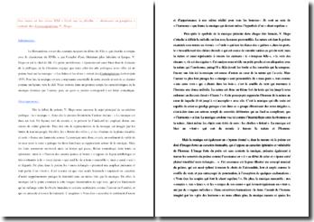 Victor Hugo, Contemplations, Les luttes et les rêves, XXI, Ecrit sur la plinthe d'un bas-relief antique : commentaire