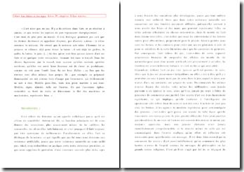 Alain, Les Idées et les âges, Livre IV, Chapitre 2, Les oeuvres