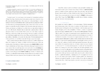 Victor Hugo, Contemplations, Le poète s'en va aux champs... : commentaire