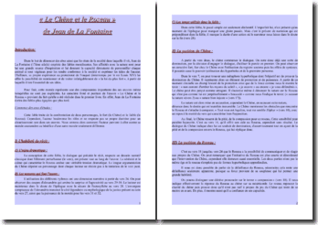 Jean de La Fontaine, Le Chêne et le Roseau : lecture analytique