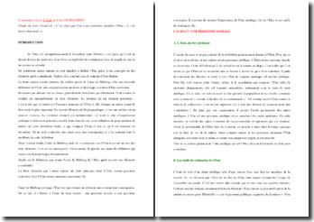 Raymond Carré de Malberg, Contribution à la Théorie générale de l'Etat, Extrait : commentaire