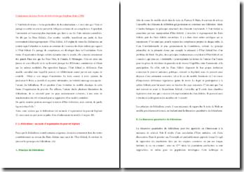 Stéphane Rials, Destin du fédéralisme, Le fédéralisme quantitatif et qualitatif : commentaire