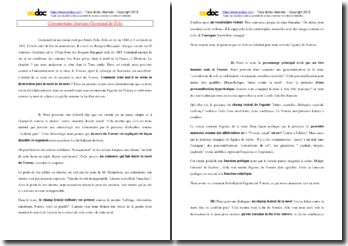 Zola, Germinal, Chapitre 3, Partie 7 : commentaire